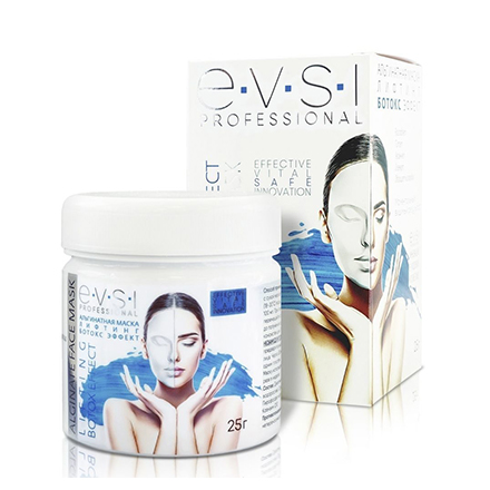Купить EVSI, Альгинатная маска для лица Premium «Лифтинг Ботокс Эффект», 25 г