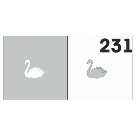 Airnails, Трафареты №231