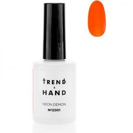 Купить Trend&Hand, Гель-лак Neon Demon №12301, Marax, Trend&Hand Professional, Оранжевый