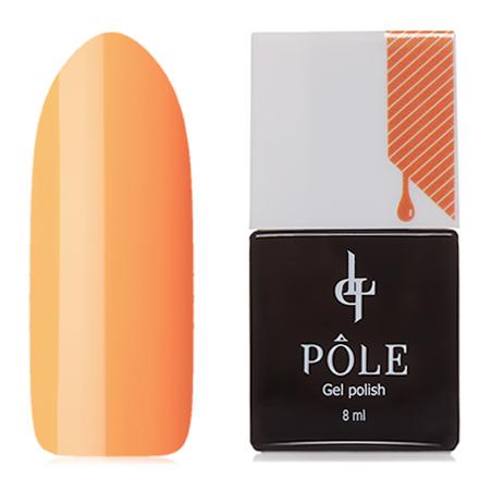 POLE, Гель-лак №231, Цедра апельсинаPOLE<br>Гель-лак (8 мл) апельсиновый, без перламутра и блесток, плотный.<br><br>Цвет: Оранжевый<br>Объем мл: 8.00