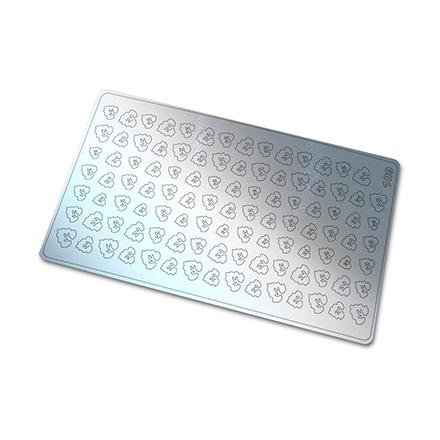 Купить Freedecor, Металлизированные наклейки №109, серебро