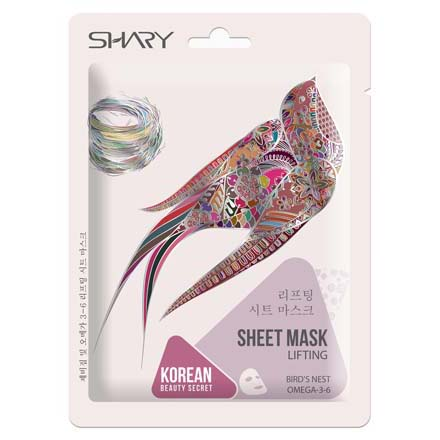 Shary, Лифтинг-маска для лица Bird's Nest Omega 3-6, 25 г фото