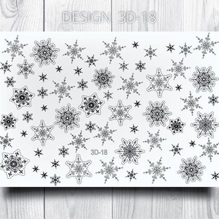 Купить AnnaTkacheva, 3Dслайдер№18, черный «Вензель. Вензеля», Anna Tkacheva