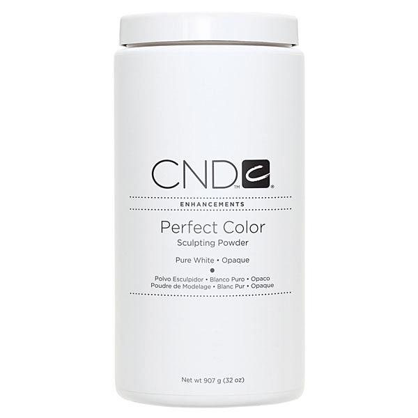 CND, Акриловая пудра Perfect Pure White, 907 гр