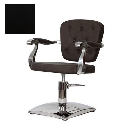 Купить Мэдисон, Кресло парикмахерское «Модесто» гидравлическое, хромированное, черное