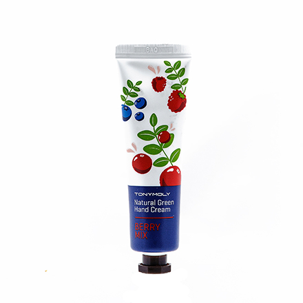 Tony Moly, Крем для рук Natural Green Hand Cream, Berry Mix хондроитин гель 5% 30 г