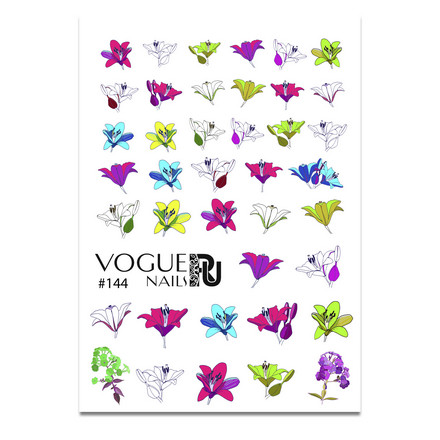 Vogue Nails, Слайдер-дизайн №144 фото