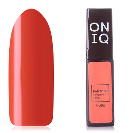 Купить ONIQ, Гель-лак Pantone №069s, Tangerine Tango, Оранжевый