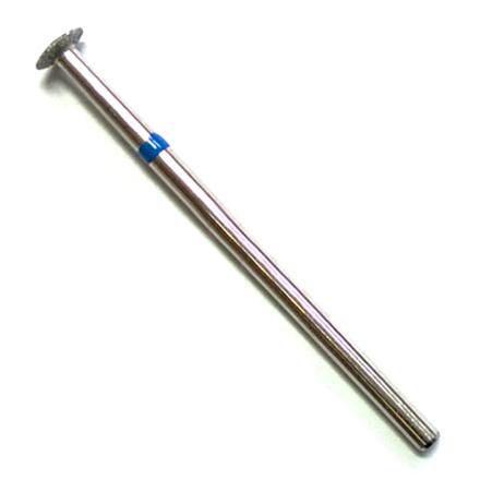 Алмазная насадка 109, 5 мм, синяя (средняя жесткость) алмазная насадка 35 синяя средняя жесткость d 2 5 мм