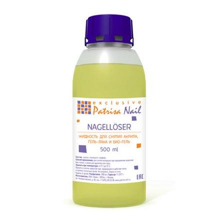 Patrisa Nail, Жидкость для снятия гель-лака, биогеля и акрила, 500 мл (Patrisa nail)
