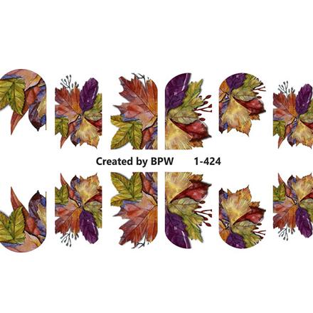BPW.Style, Слайдер-дизайн «Листья» №1-424