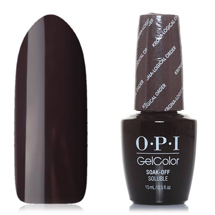OPI GelColor, Гель-лак Iceland GCI55, Krona-logical Order opi gelcolor гель лак i sea you wear opi gca73