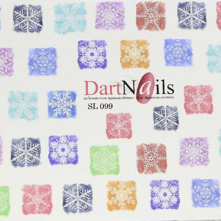 Купить DartNails, Слайдер-дизайн Art-Fashion №99