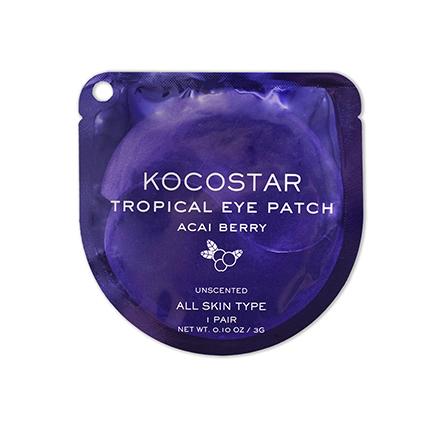 Купить Kocostar, Гидрогелевые патчи для глаз Tropical, ягоды асаи, 1 пара