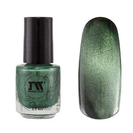 Купить Masura, Лак для ногтей №904-118M, Совершенный изумруд, 3, 5 мл, Зеленый