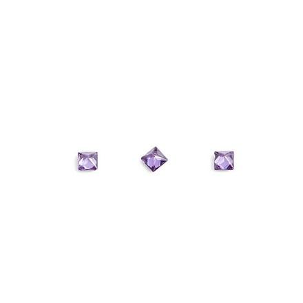 TNL, Кристаллы «Принцесса» №1, фиолетовые, 10 шт.3D украшения<br>Кристаллы для объемной инкрустации ногтей. В упаковке 10 штук.