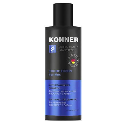 Konner, Шампунь против выпадения волос для мужчин, 250 мл ducray неоптид лосьон от выпадения волос для мужчин 100 мл