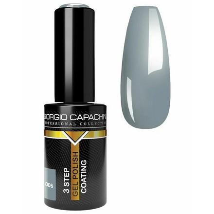 Купить Giorgio Capachini, Гель-лак Business Style №006, Серый