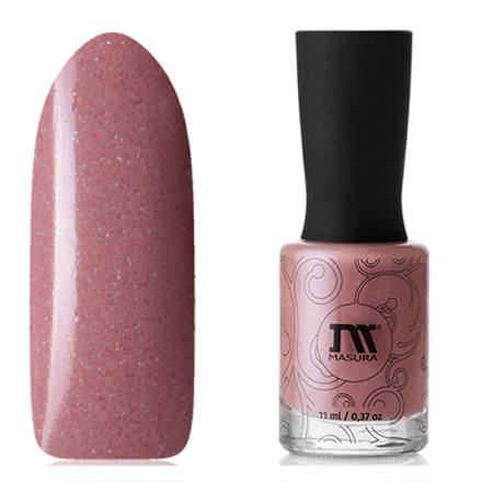 Купить Masura, Лак для ногтей «Золотая коллекция», Волшебный чертополох, 11 мл, Розовый