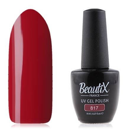 Купить Beautix, Гель лак №817, 8 мл, Красный