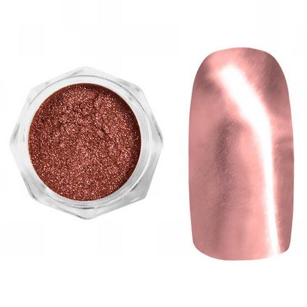 Купить YMMY Professional, Втирка металлическая №02, розовая, Розовый