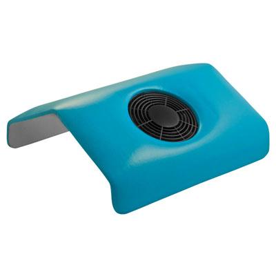 Planet Nails, подставка-пылесос для маникюра, синяяПодставки-пылесосы<br>Предназначен для поглощения опила при наращивании и коррекции ногтей, цвет синий.<br>