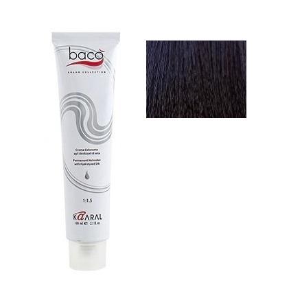 Kaaral, Крем-краска для волос Baco B1.10 фото