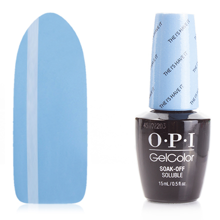 Гель-лак OPI GelColor, цвет The I's Have it!