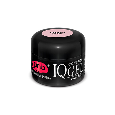 PNB, Гель IQ Control, Cover Pink, 15 мл