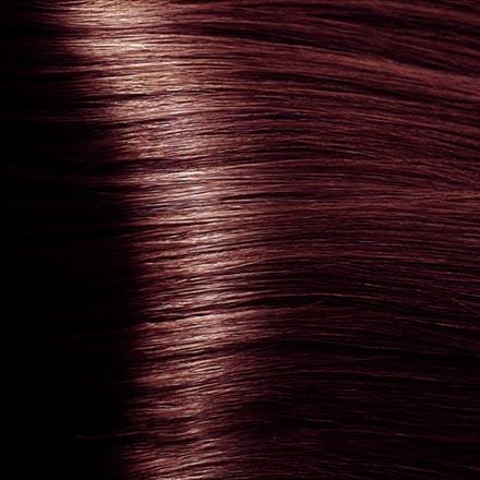 Kapous, Крем-краска для волос Hyaluronic 4.5, коричневый махагоновый, 100 мл краска для волос kapous professional hyaluronic acid hair color серебро