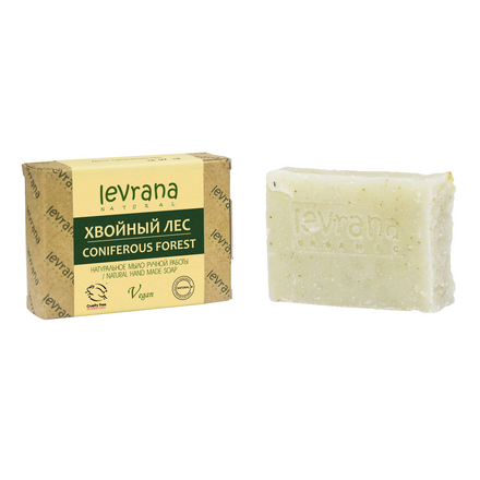 Купить Levrana, Натуральное мыло «Хвойный лес», 100 г