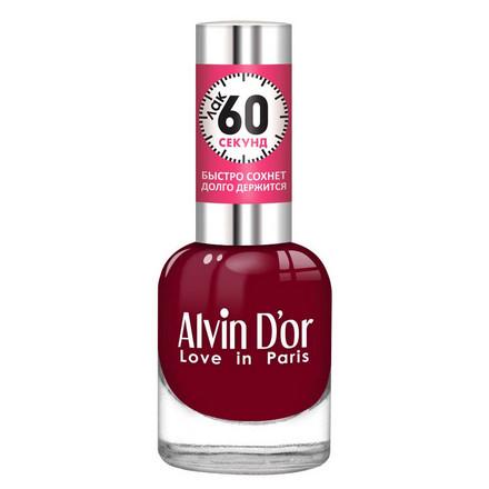 Купить Alvin D'or, Лак «60 секунд» №28, Бордовый