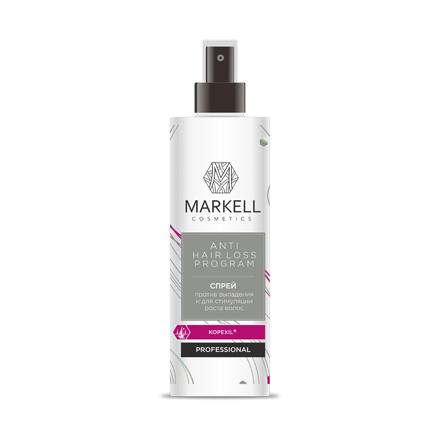 Markell, Спрей против выпадения и для стимуляции роста волос «Professional», 200 млСпреи для волос <br>Спрей обеспечивает укрепление волосяных луковиц и предупреждает выпадение волос, стимулирует их активный рост.<br><br>Объем мл: 200.00