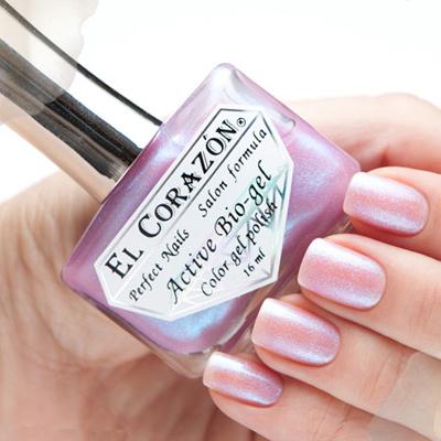 Купить El Corazon Лечебная Серия Цветной Биогель, № 423/557, Фиолетовый
