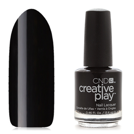 CND Creative Play, цвет Black Forth, 13,6 мл cnd лосьон creative scentsations wildflower