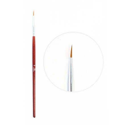 Купить TNL, Кисть для рисования №0, TNL Professional
