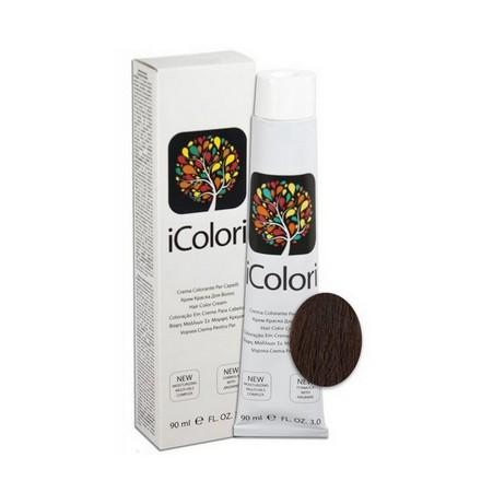 KAYPRO, Крем-краска iColori 5.4Краска для волос<br>Цвет: светло-каштановый медный. Объем: 90 мл.