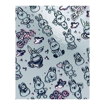 AnnaTkacheva,3D-слайдерCrystal№761 «Животные. Зайцы» фото