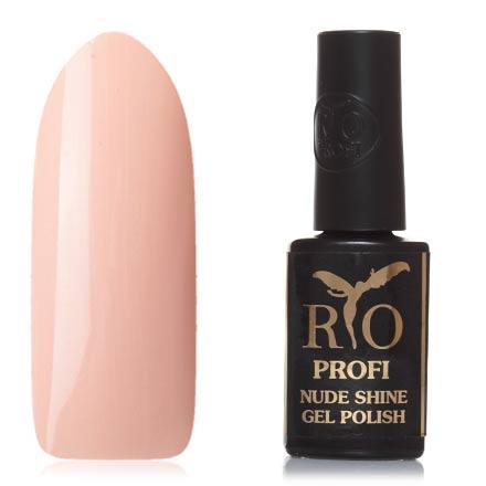 Rio Profi, Гель-лак Nude Shine №14, Джульетта rio profi гель лак 83 королевский дракон