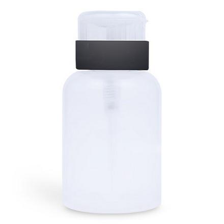 Patrisa Nail, Флакон для жидкостей с помпой, 250 млЕмкости<br>Емкость из пластика для хранения жидкостей.