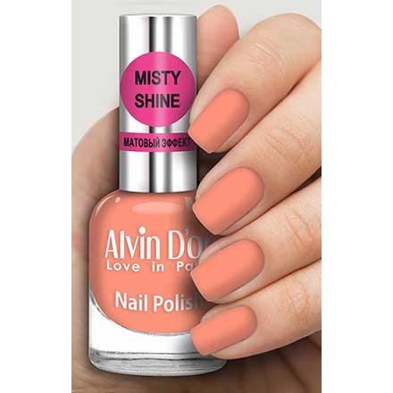 Купить Alvin D`or, Лак Misty shine №512, Alvin D'or, Коралловый