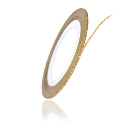 TNL, Нить на клеевой основе перламутровая, золотая