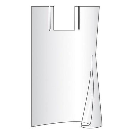 Irisk, Пеньюар полиэтиленовый одноразовый, (140х100 см), 25 шт