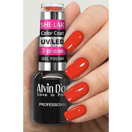 Купить Alvin D'or, Гель-лак №3531, Красный