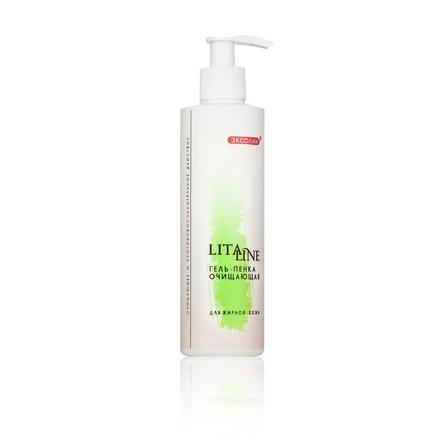 Купить LitaLine, Гель-пенка «Очищающая» для жирной кожи, 200 мл