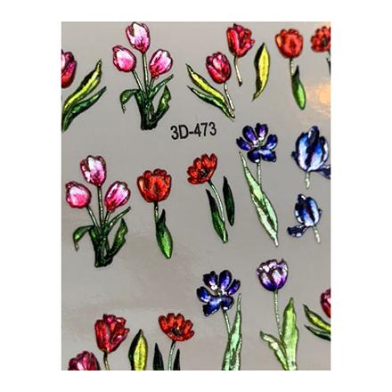 AnnaTkacheva,3D-слайдерCrystal№473 «Цветы. Цветочки» фото