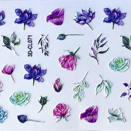 Купить Anna Tkacheva, 3D-стикер CL №071 «Цветы. Веточки»
