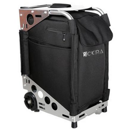 Купить OKIRO, Сумка-чемодан для визажиста Silver, на колесах