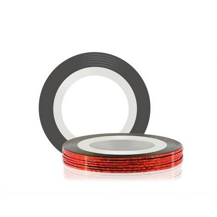Купить RuNail, Самоклеющаяся лента для дизайна ногтей, красная, 20 м