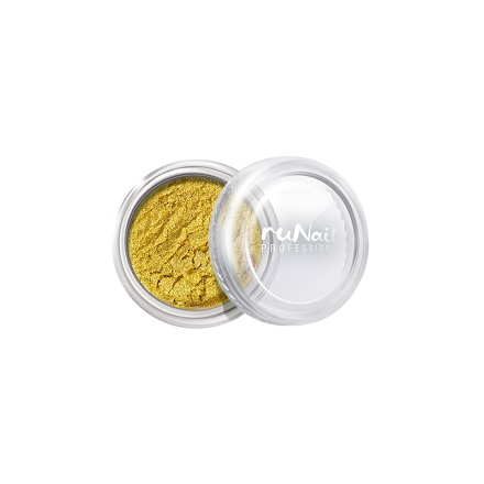 ruNail, дизайн для ногтей: пыль 2010 (золотой, матовый)